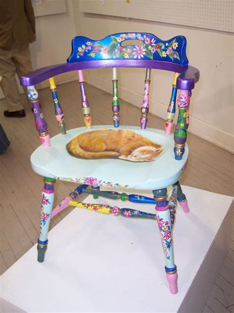 Painted Armchair by Painted Chairs