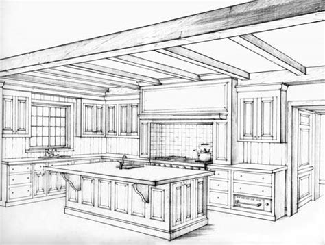kitchen perspective drawing 2 point perspective kitchen drawing kitchen bath 2 selections