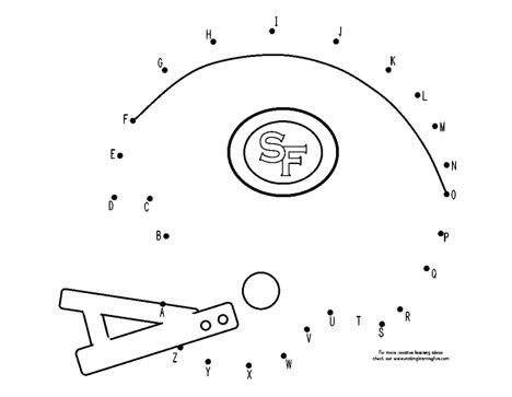 San Francisco 49ers Coloring Pages Coloring Pages 49ers Coloring Pages