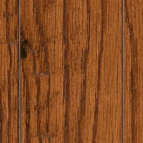 Distressed Honey Oak Flooring - take home sle scraped distressed mixed width