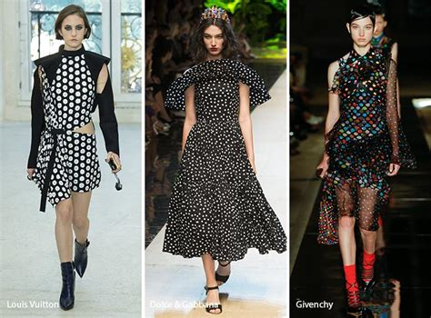dot pattern fashion spring summer 2017 print trends fashionisers