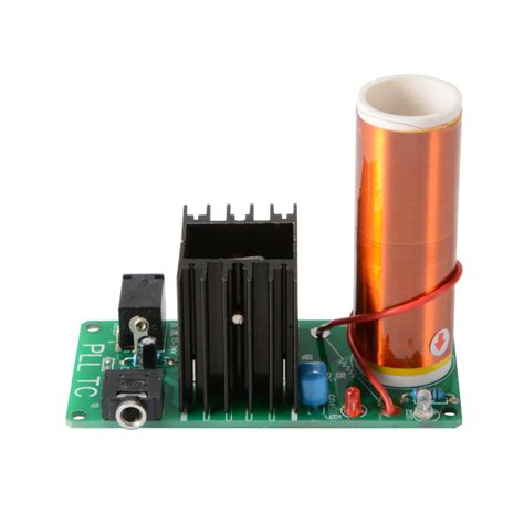 Small Tesla Coil Kit Mini Tesla Coil Plasma Speaker Kit Electronic Field