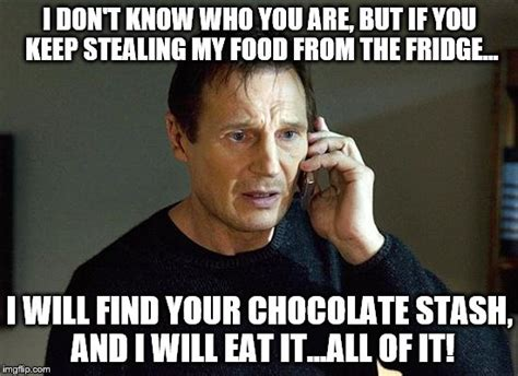 Buy All The Food Meme - liam neeson taken 2 meme imgflip