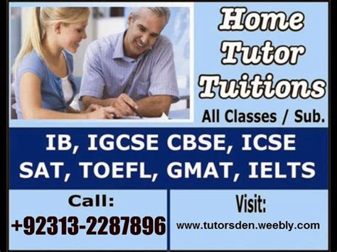Mba After Acca In Pakistan by Home Tutor In Karachi And Tuition Provider