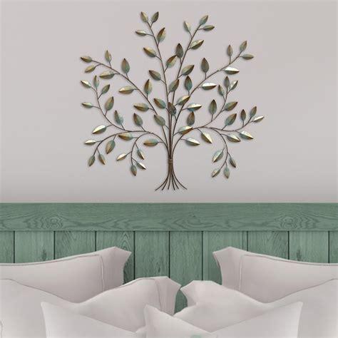 stratton home decor stratton home metal tree  life wall