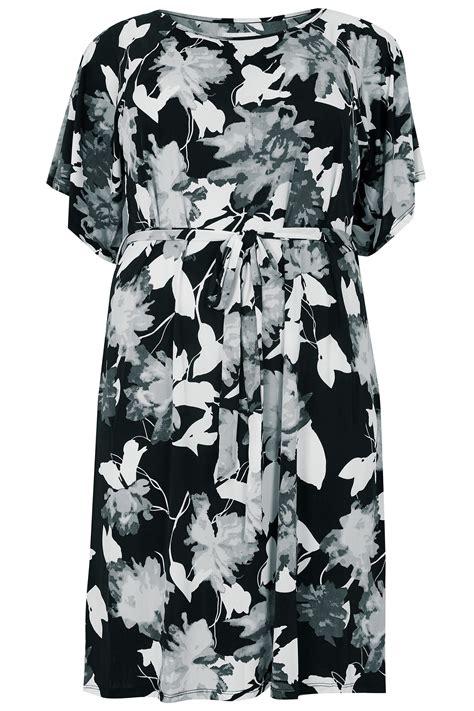 Vanilla Master Gift Card Balance - blue vanilla curve black white cold shoulder shadow floral dress with tie waist plus
