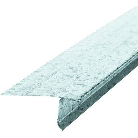style a roof edge amerimax galvanized style f5 overhanging roof drip edge