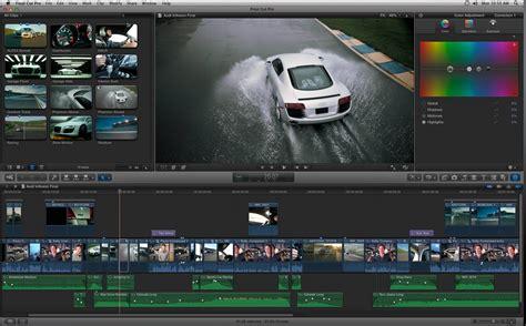 final cut pro latest version for mac urbanfox tv blog apple ships final cut pro x