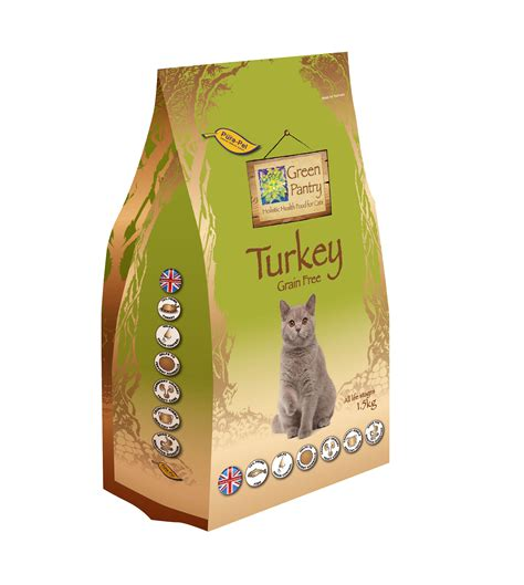 Green Pantry by Green Pantry 1 5 Kg Turkey Grain Free Cat Food Green