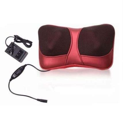 Murah Bantal Pijit Neck Cushion Raison bantal pijat shiatsu car heat neck massanger pillow 3