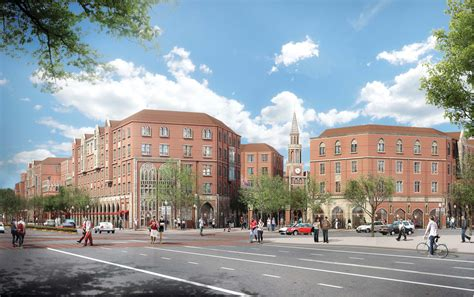 House Usc by Usc Unveiling Plans For 650 Million Housing Retail