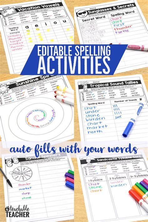 Spelling Out And About Looking by Best 25 Spelling Activities Ideas On