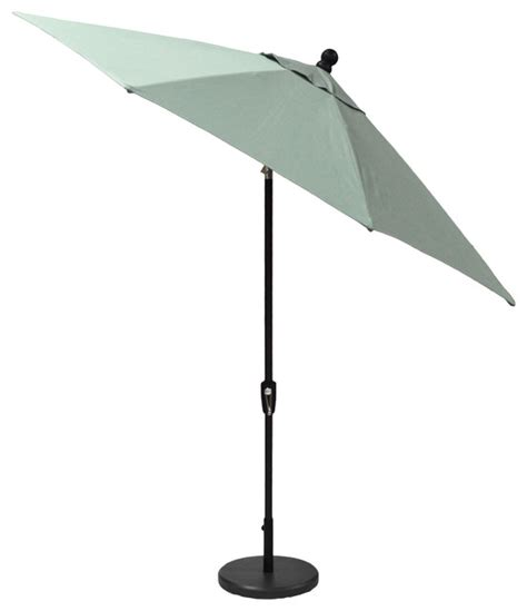 9 Auto Tilt Umbrella Sunbrella Canvas Spa Outdoor Canvas Patio Umbrella