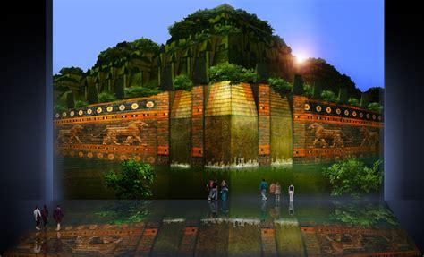 imagenes de jardines virtuales jardines colgantes de babilonia concepto precursor e