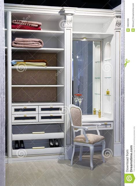 Inside The Closet by Inside The Modern Closet Royalty Free Stock Image Image