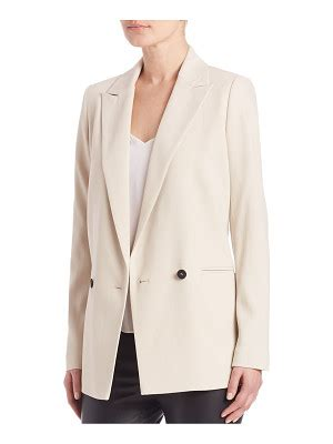 Set Breasted Blazer neutral blazers shop now nudevotion