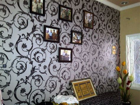 jual wallpaper dinding kamar di medan rumah dijual jual rumah minimalis full wallpaper bata