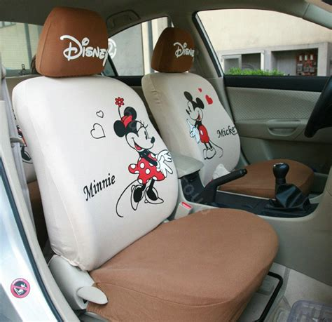 mickey and minnie seat covers buy wholesale mickey minnie mouse universal auto car seat