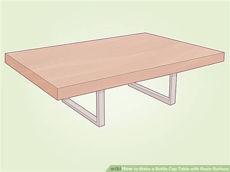 how to make a bottle cap table how to make a bottle cap table with resin surface 10 steps