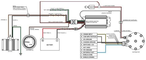 msd ignition wiring diagram msd ford wiring