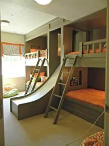Childrens Bunk Bed With Slide Bunk Bed Slide