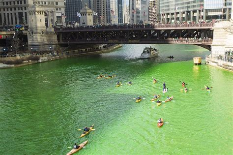 chicago river st s day history dyeing to be green the chicago river and st s day niche