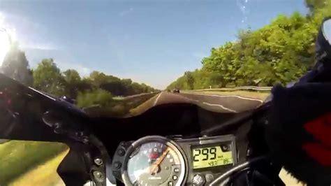 186 Mph To Kmh by Suzuki Gsxr 750 K4 K5 Akrapovic K N Top Speed Highspeed