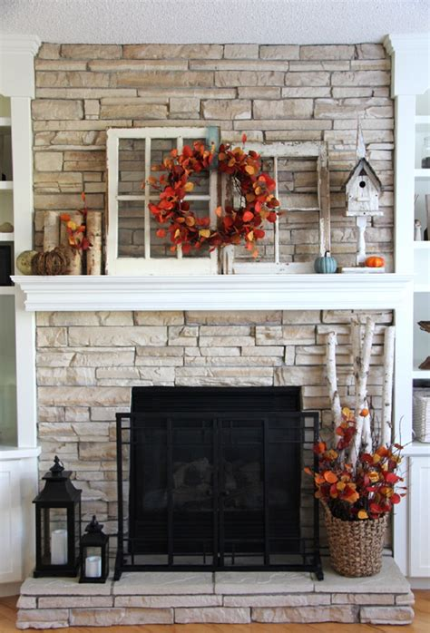decor for fireplace 14 cozy fall fireplace decor ideas to steal right now