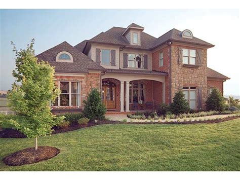 eplans new american house plan stately yet warm and