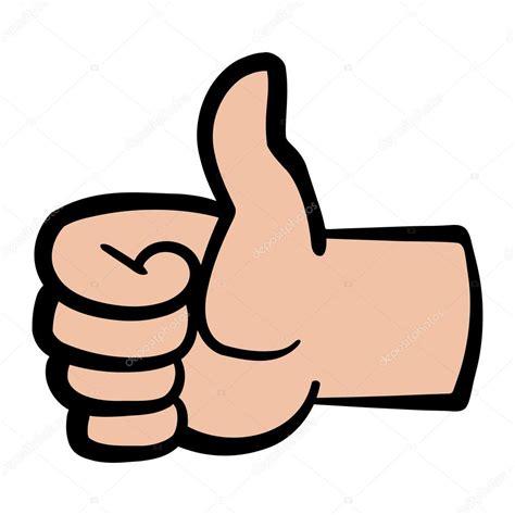 imagenes de dedo pulgar ok pulgar arriba a vector icono vector de stock 169 briangoff