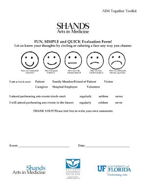 simple feedback form template simple evaluation format fill printable