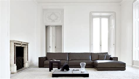 Brown And White Living Rooms by Busnesli Brown And White Large Living Room Interior