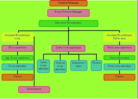 layout of housekeeping department in large hotel housekeeping organization chart of housekeeping