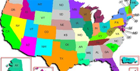 usa map identify states how many u s states can you identify on a blank map
