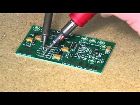 smd capacitor removal how to remove smd resistors capacitors using a regular soldering iron