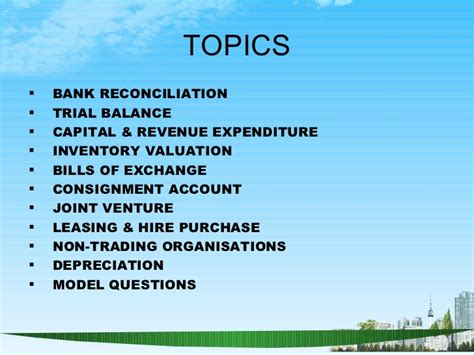 Mba Accounting And Finance by Accounting And Finance Ppt Bec Doms Bagalkot Mba Finance