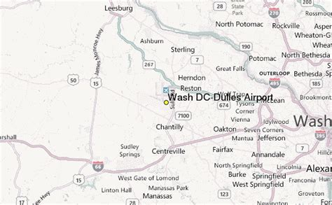 washington dc airports map locations wash dc dulles airport weather station record historical