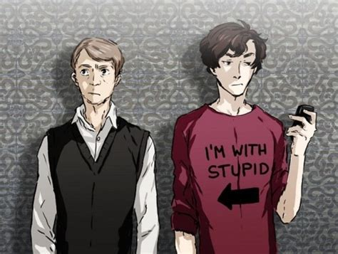 T Shirt Sherlock Anime sherlock fan sherlock and the hobbit
