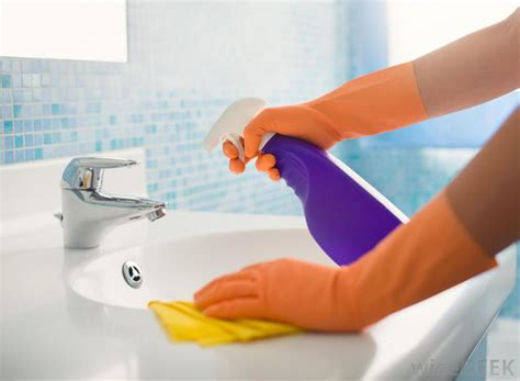 how to clean a bathroom sink what is the best way to clean a bathroom with pictures