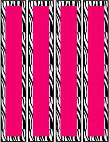 free printable zebra print labels free pink zebra birthday party food cards printables