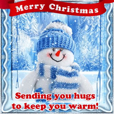 christmas hugs    warm  hugs ecards greeting cards