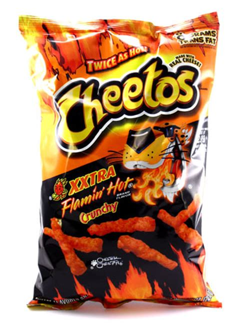 does flamin hot funyuns have pork cheetos xxtra flamin hot crunchy 8 5 oz pack of 3