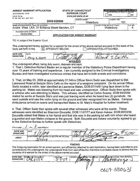 Waterbury Ct Arrest Records Page 1 Jpg