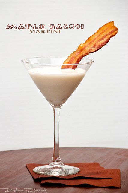 martini bacon maple bacon martini bacon half and half maple syrup
