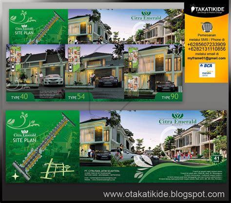 desain brosur perumahan cdr desain yang menarik meningkatkan image sebuah perumahan