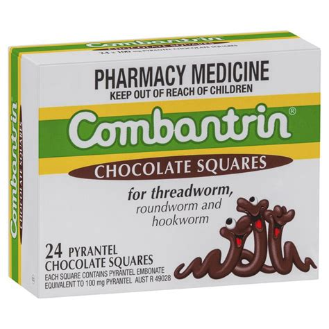 Combantrin Tab buy combantrin chocolate squares 24 at chemist warehouse 174