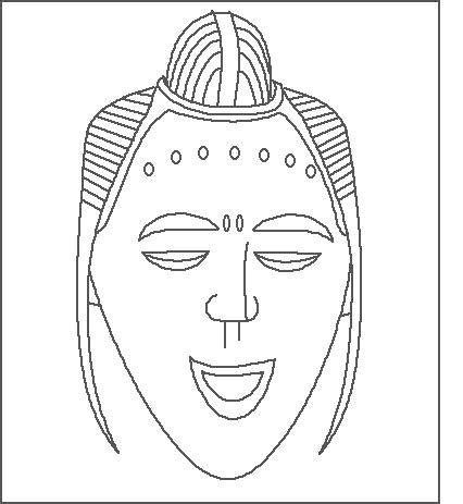 printable african mask 13 african mask template images african mask coloring