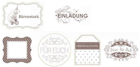 Etiketten Anhänger by Franzi S Kreative Gr 252 223 E Der Shop