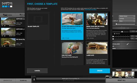 gopro edit templates gopro goes with free editing software gadget