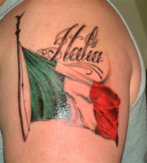 italian american tattoo designs 20 flag tattoos tattoofanblog